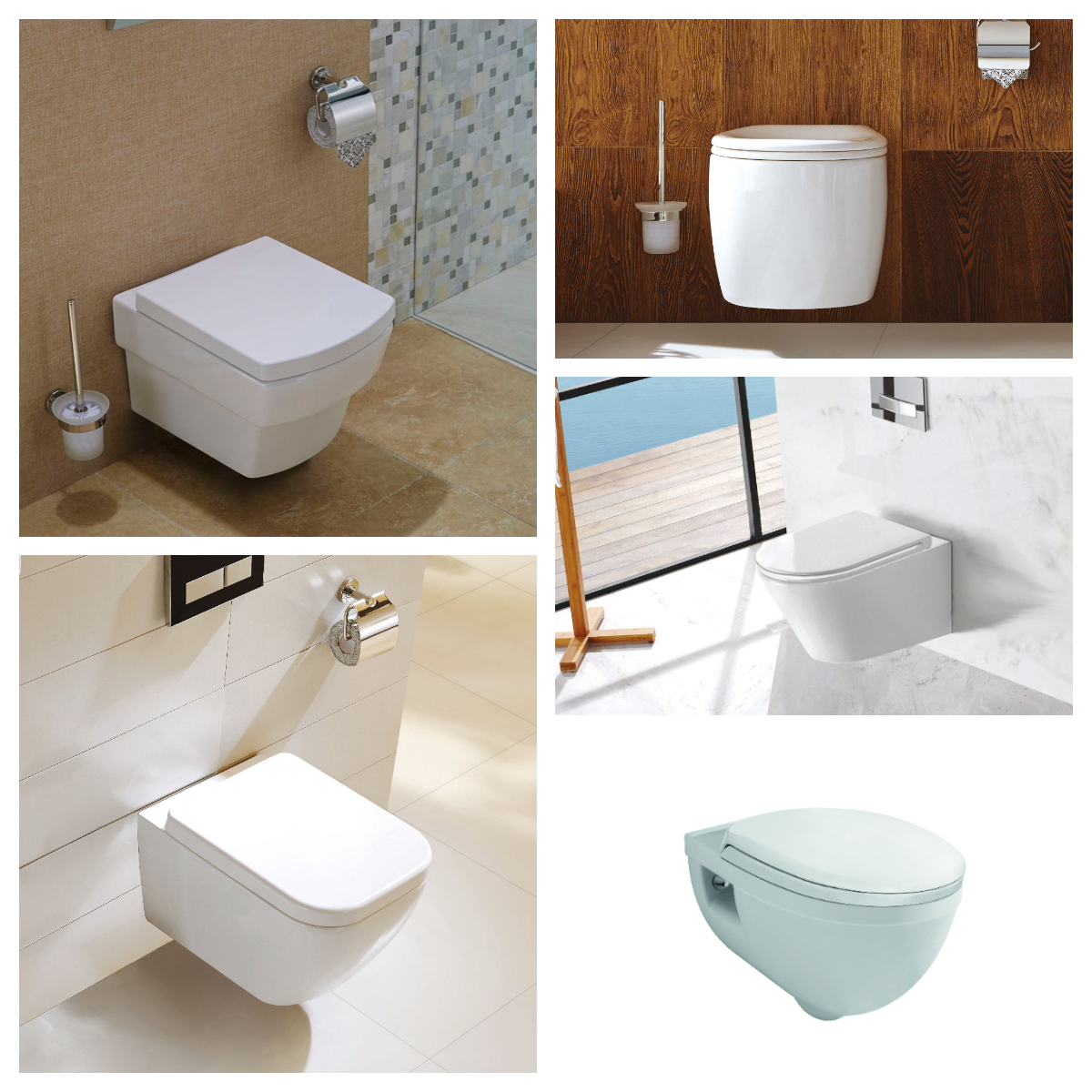 Wand-WC inkl. Soft-Close Sitz WH