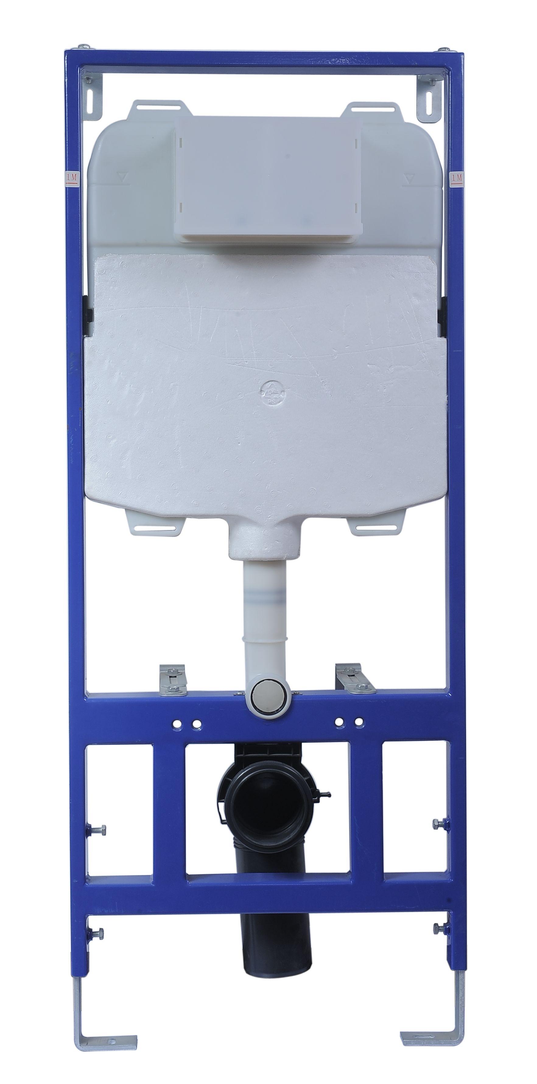 WC Vorwandelement IX-446241 ohne Betätigungsplatte
