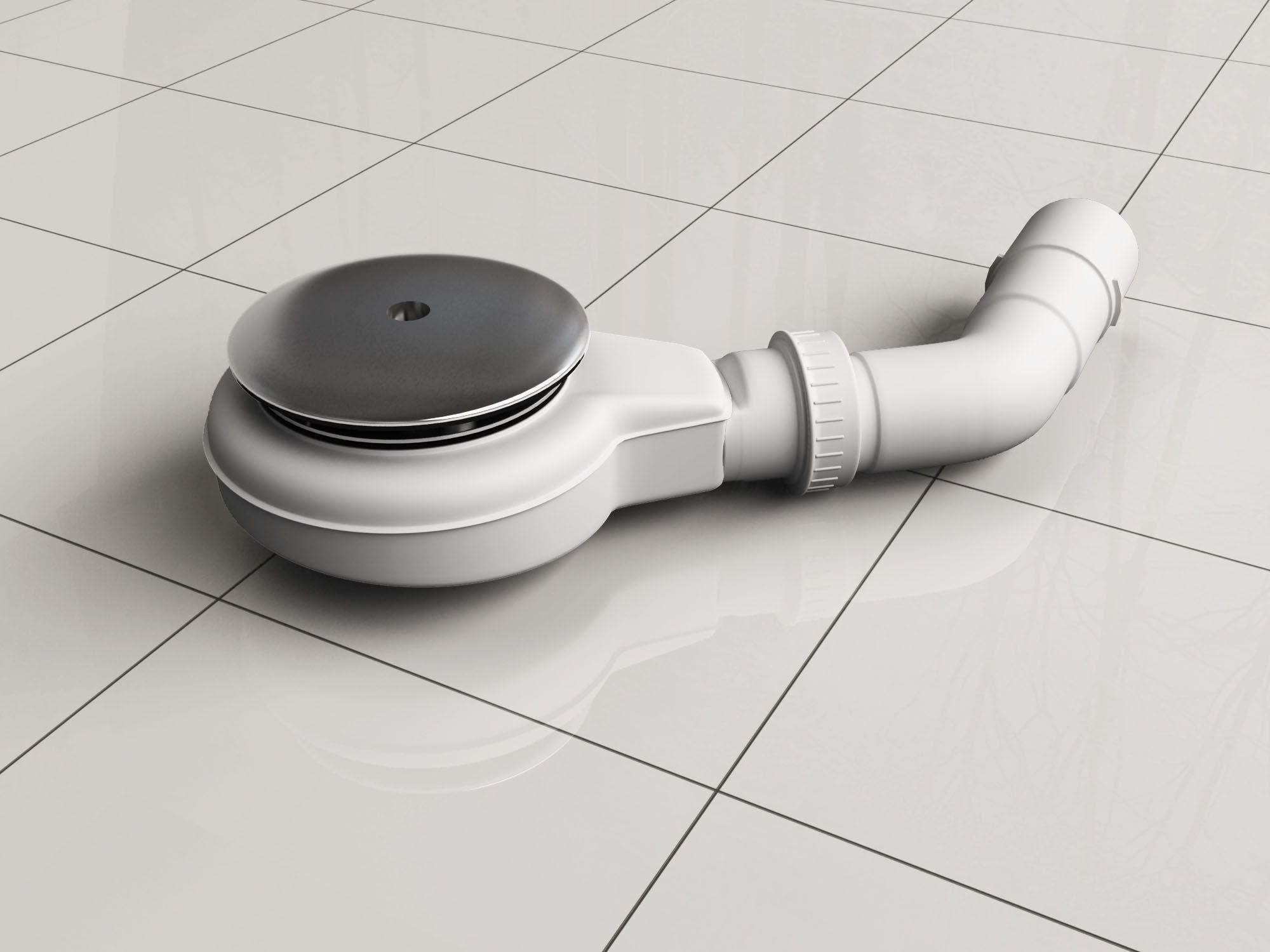 Ablaufgarnitur für Duschtassen mit 90 mm Ablaufloch
