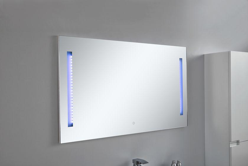 LED-Spiegel ARCUA in weiß