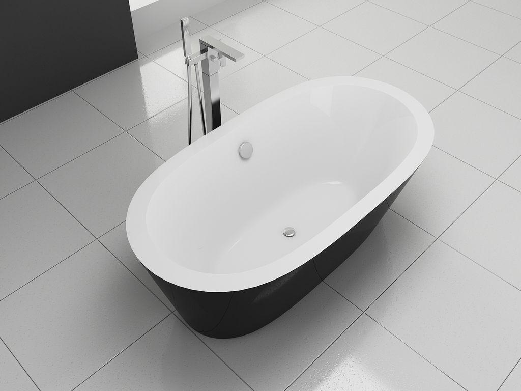 Freistehende badewanne bw ix024 for Freistehende badewanne bilder