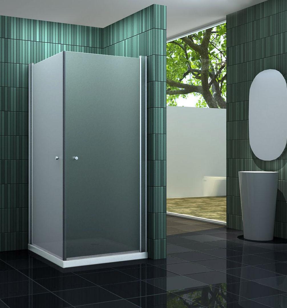 Duschkabine BANHO-F 80 x 80 x 190 cm ohne Duschtasse