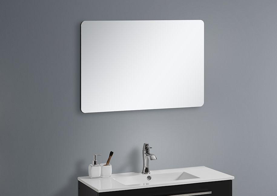 Badmöbel Spiegel BOXO 60 (schwarz)