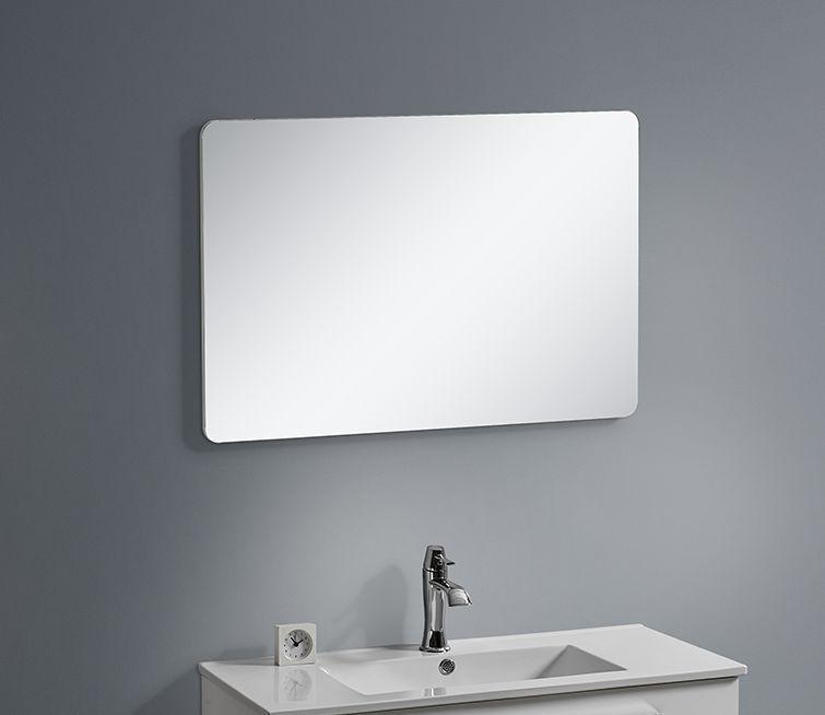 Badmöbel Spiegel BOXO 60 (weiß)