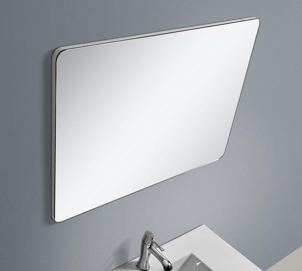 Badmöbel Spiegel BOXO 90 (weiß)