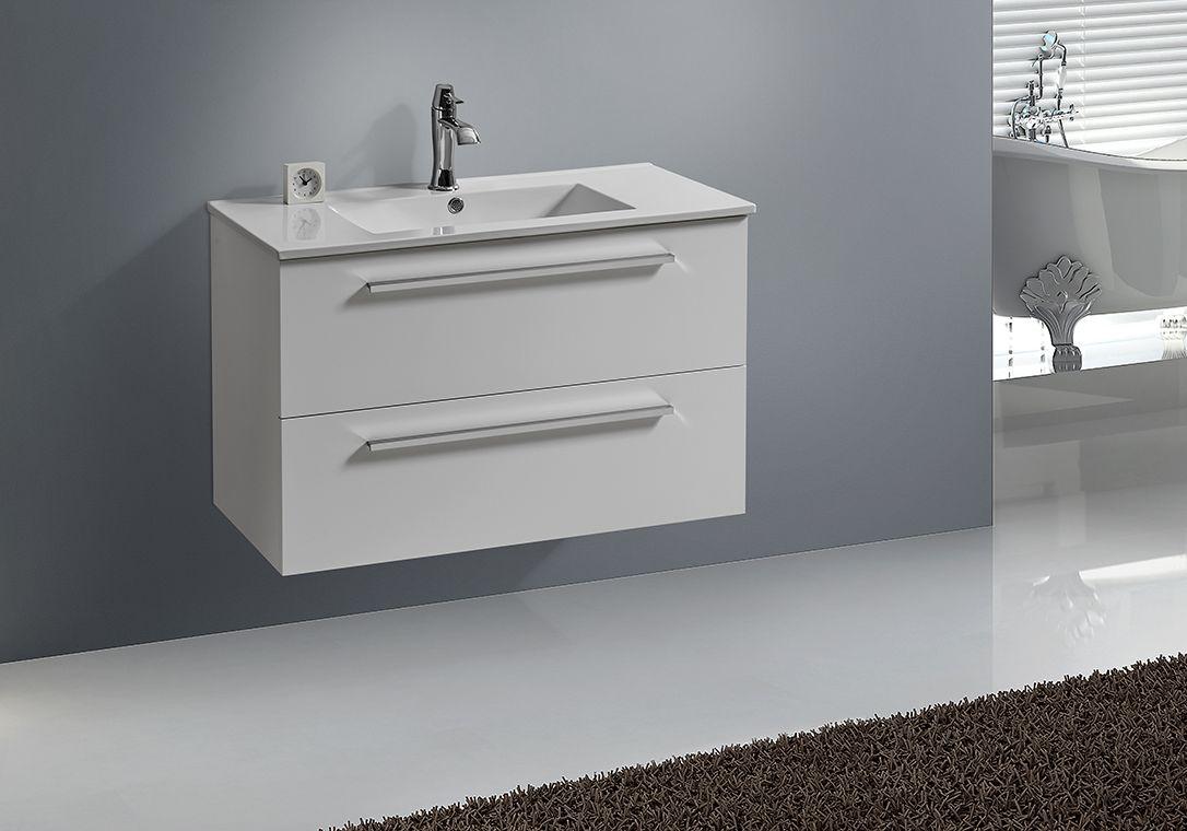 Badmöbel Unterschrank BOXO 60 (weiß)