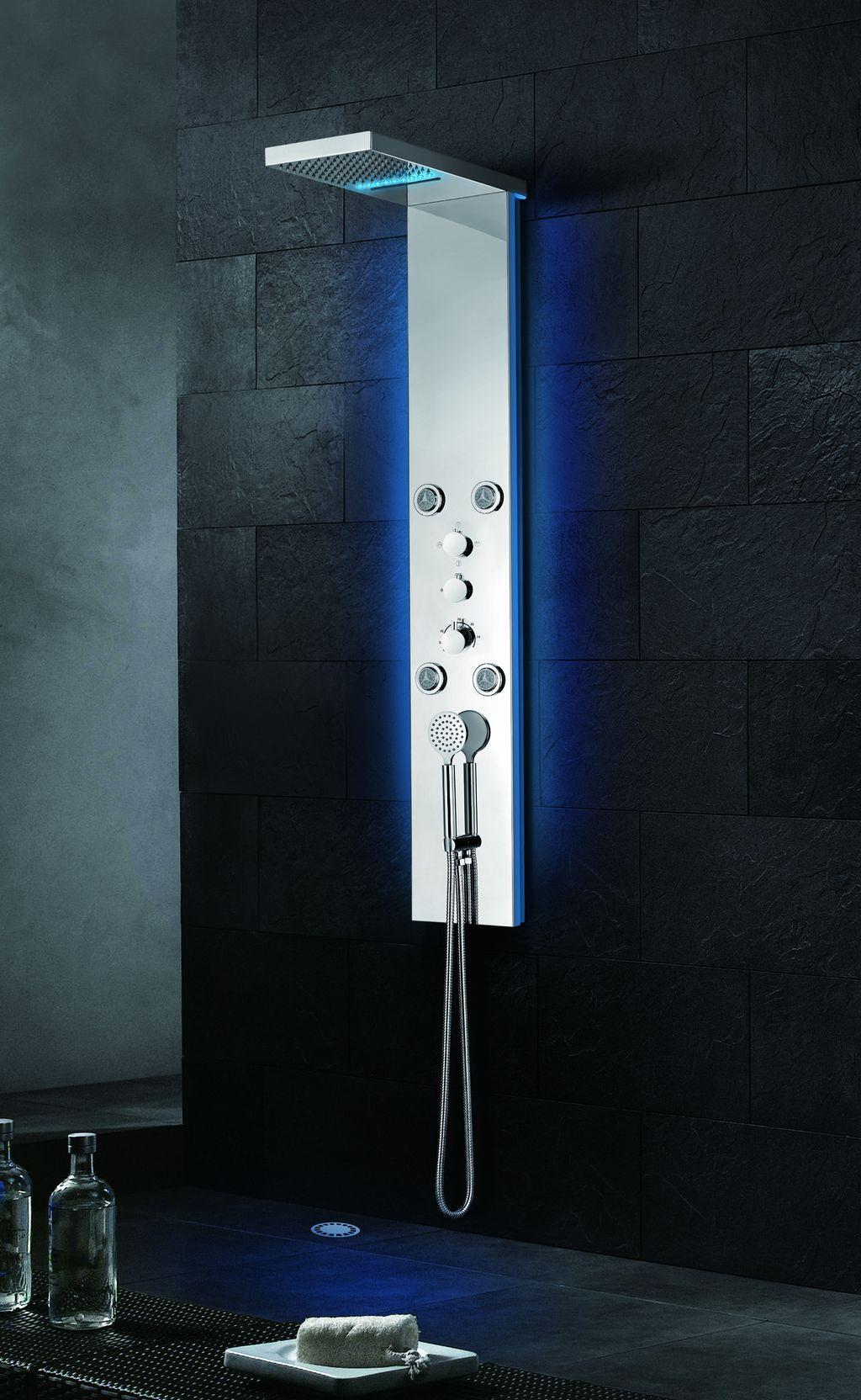 LED Designer Duschpaneel DP-087