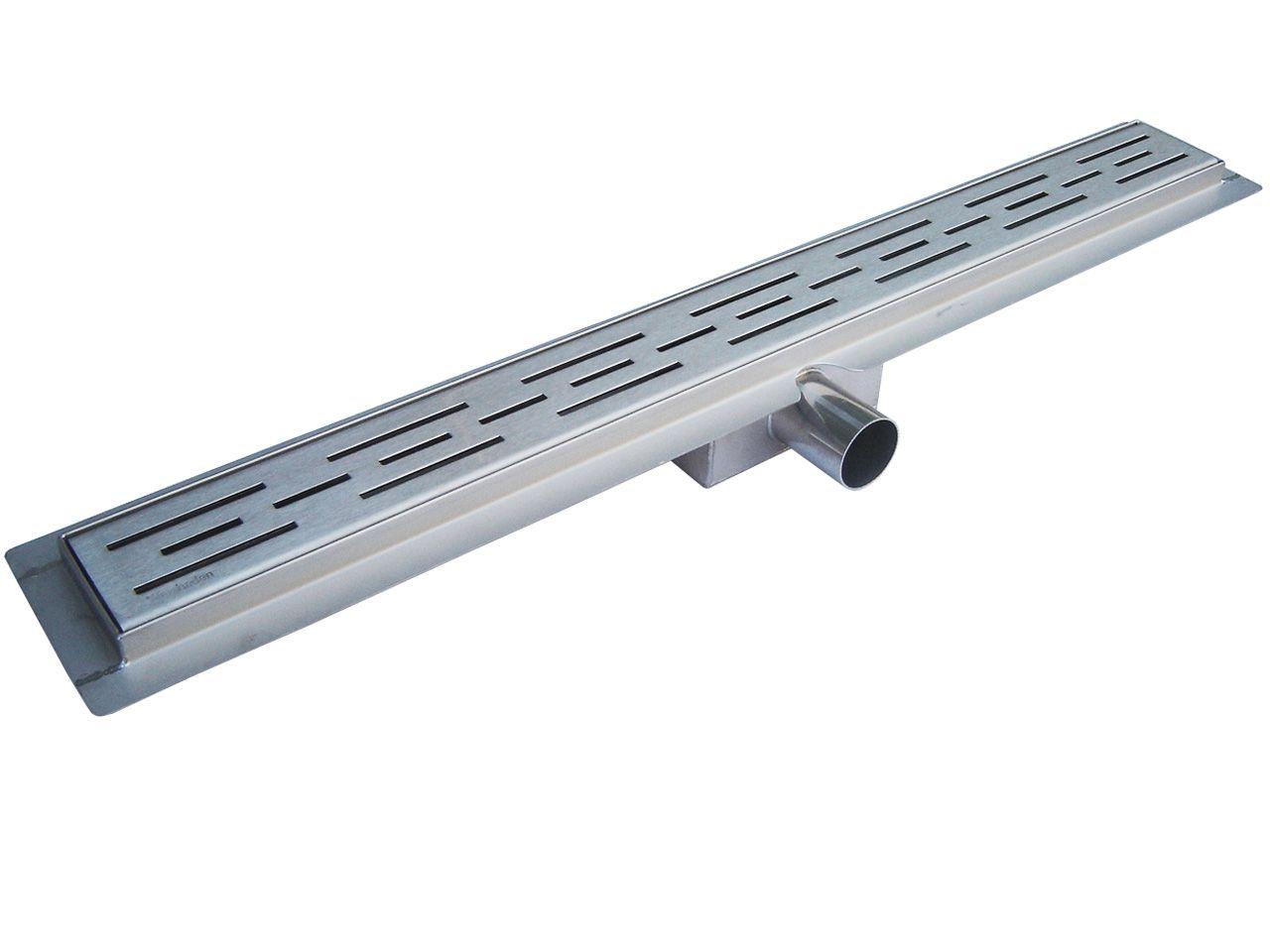 Edelstahl-Duschrinne 80 cm
