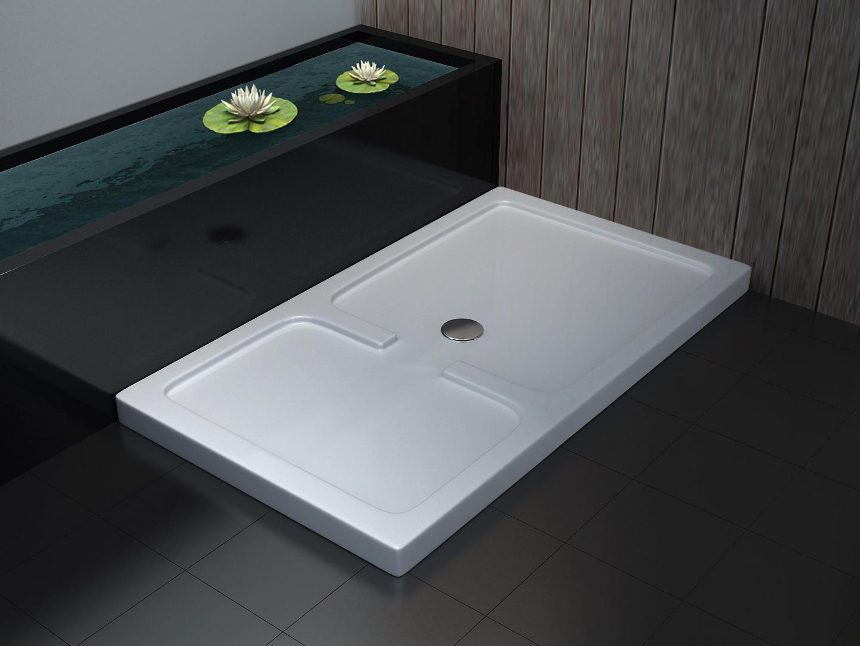 50 mm Duschtasse für GRANEL 150 x 90  cm