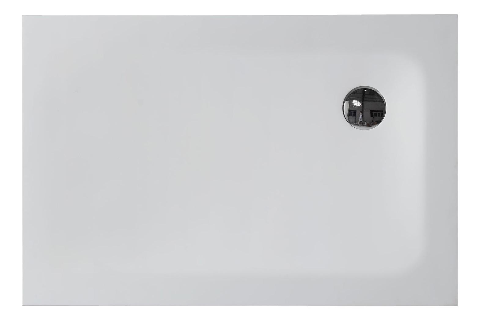 mineralguss duschtasse 100 x 80 x 5 cm. Black Bedroom Furniture Sets. Home Design Ideas