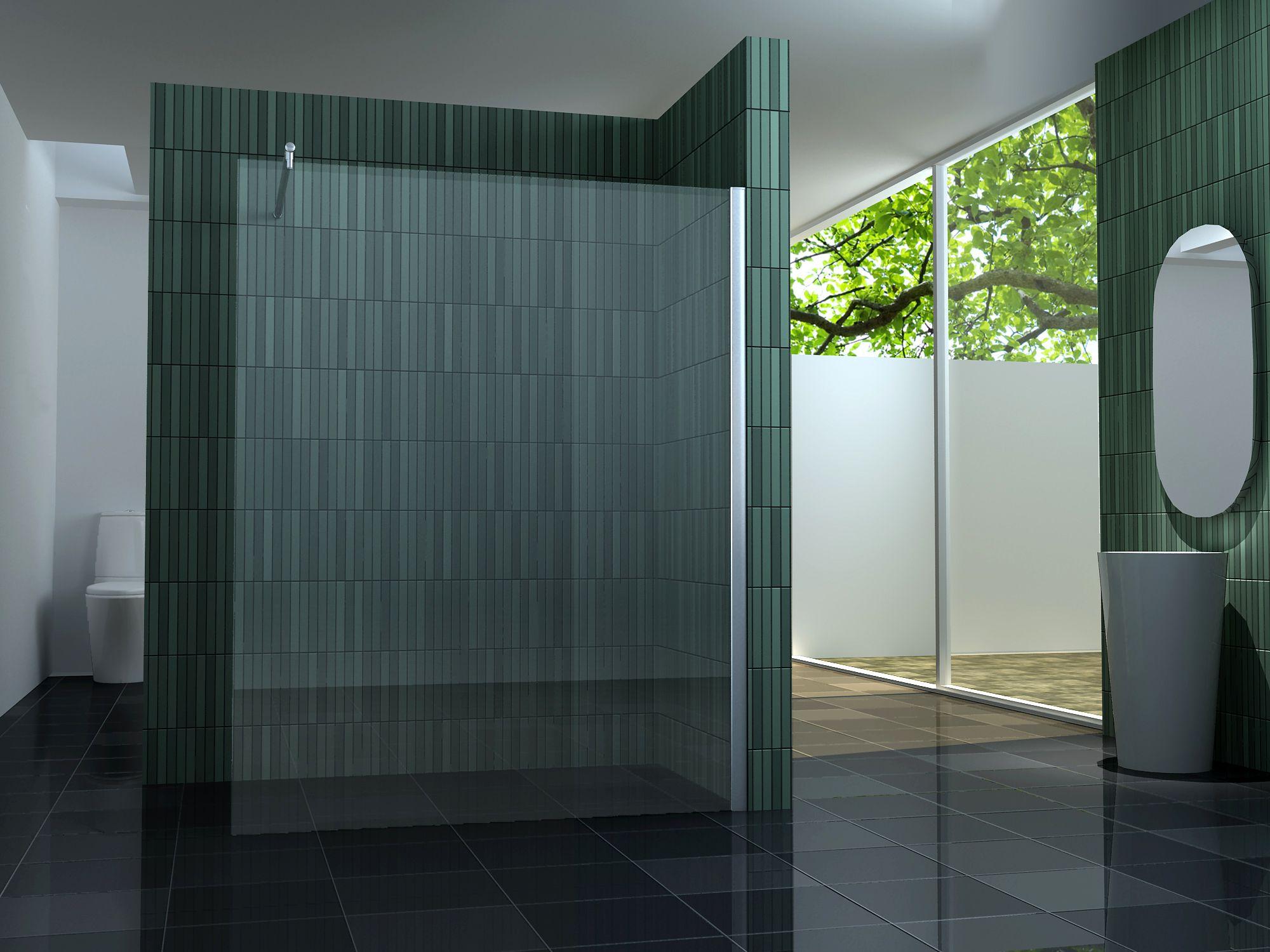 Duschtrennwand  10 mm Duschtrennwand FREE 160 x 200 cm