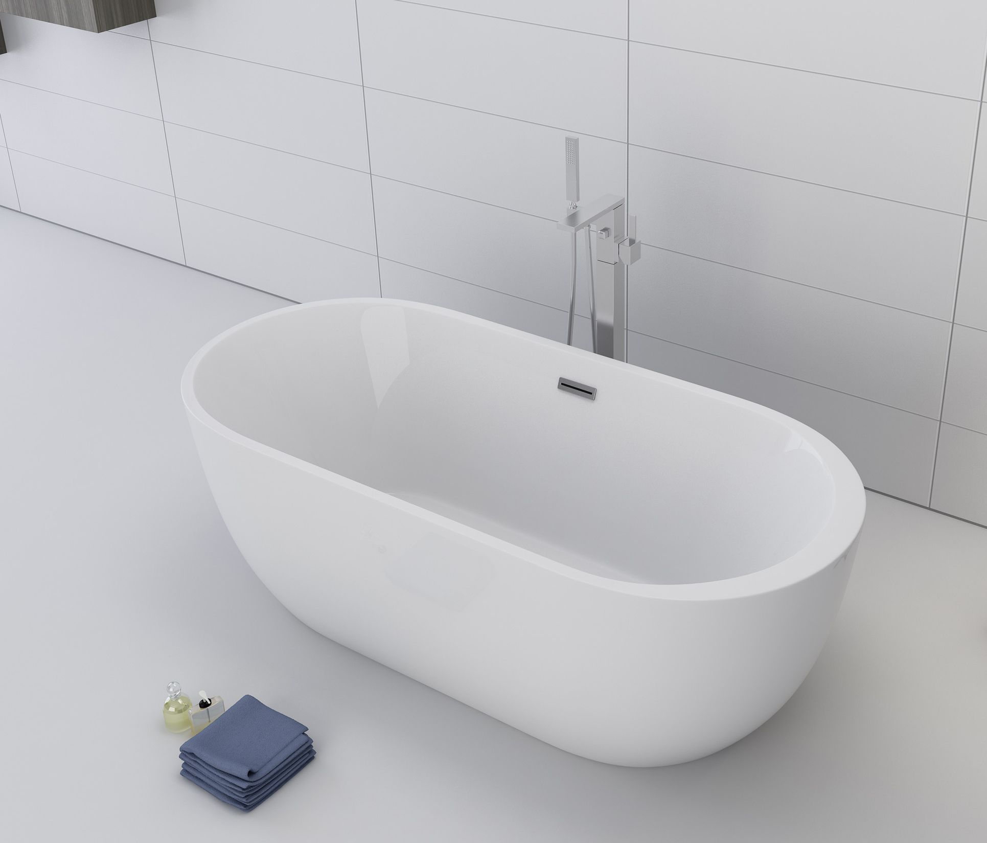 freistehende Badewanne BW-IX036