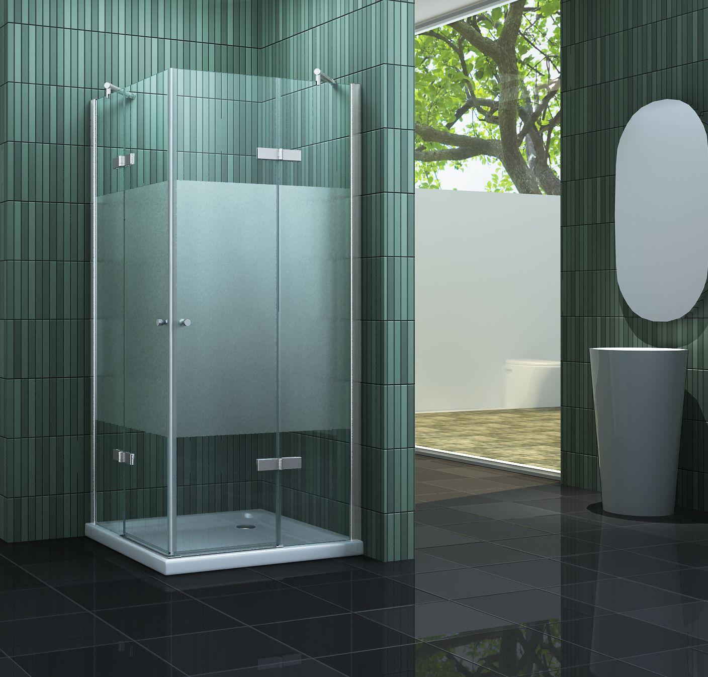 Duschkabine NEOTEC-F 80 x 80 cm ohne Duschtasse