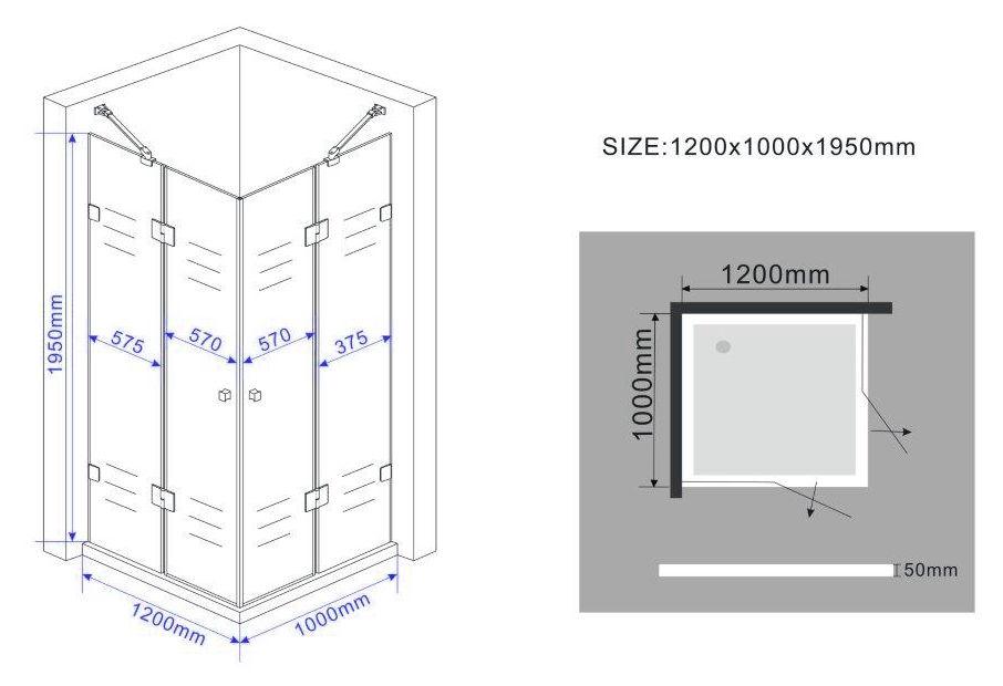 Duschkabine-MARCOLO-Glas-Dusche-Duschwand-Duschabtrennung-Duschtrennwand