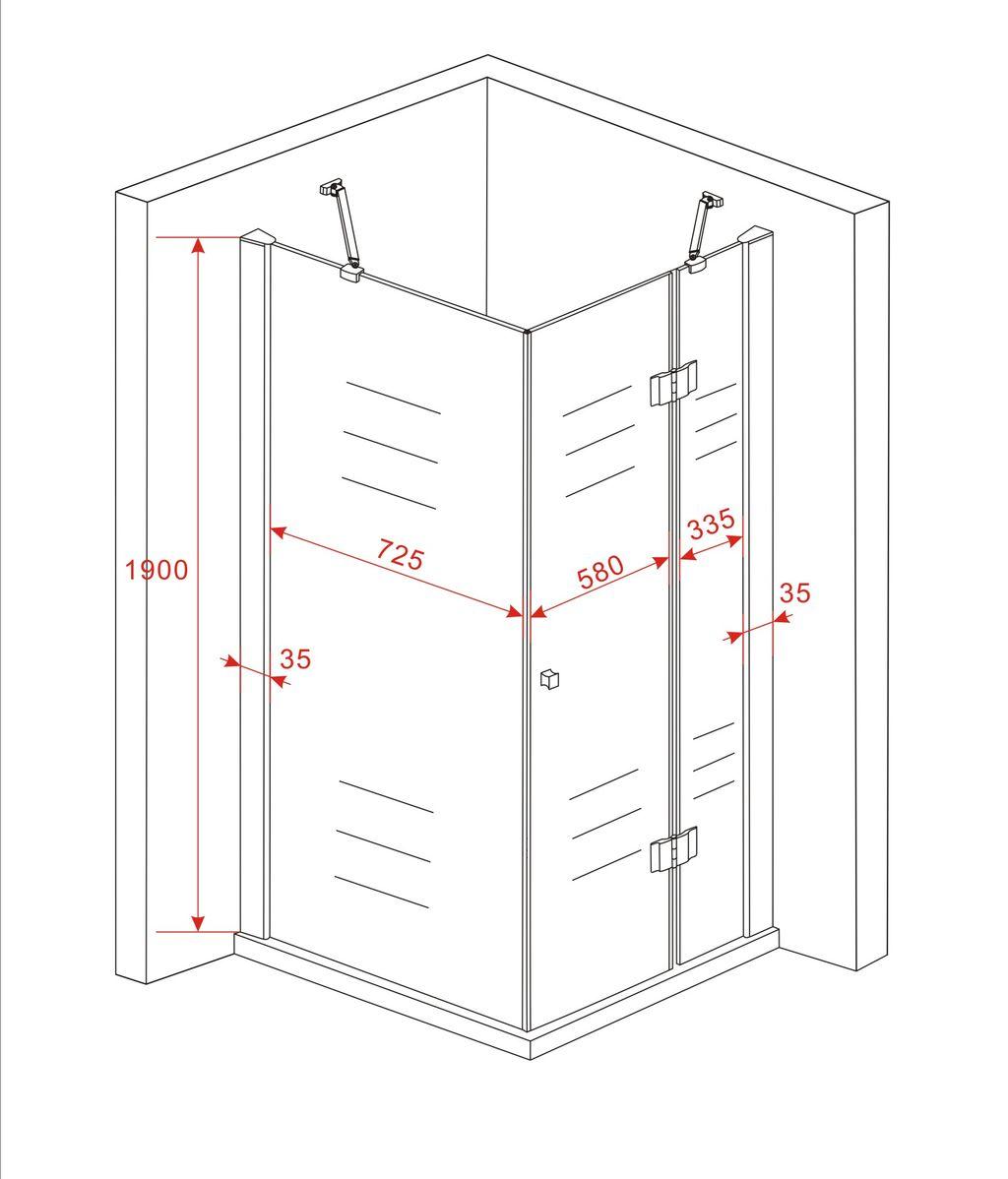 duschkabine norma glas dusche duschwand duschabtrennung. Black Bedroom Furniture Sets. Home Design Ideas