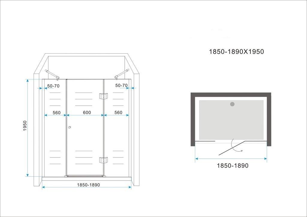 8mm-XXL-Nischentuer-RANGE-Pendeltuer-Duschtuer-Duschabtrennung-Dusche-Duschkabine