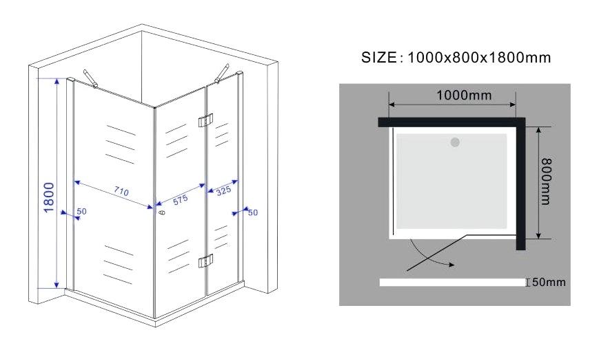 sill glas duschkabine dusche duschwand duschabtrennung. Black Bedroom Furniture Sets. Home Design Ideas