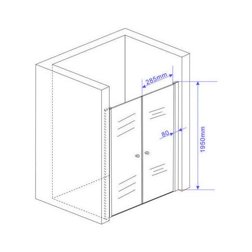 75-140-x-195-cm-Nischentuer-Duschwand-Pendeltuer-Duschtuer-Duschabtrennung-Dusche