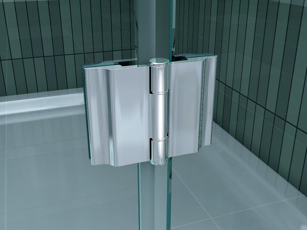 8mm-XXL-Nischentuer-RANGE-Pendeltuer-Duschtuer-Duschabtrennung-Dusche-Duschkabine Indexbild 5