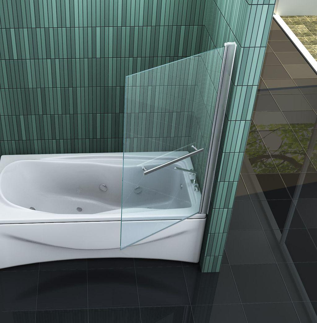 duschtrennwand reco badewanne. Black Bedroom Furniture Sets. Home Design Ideas