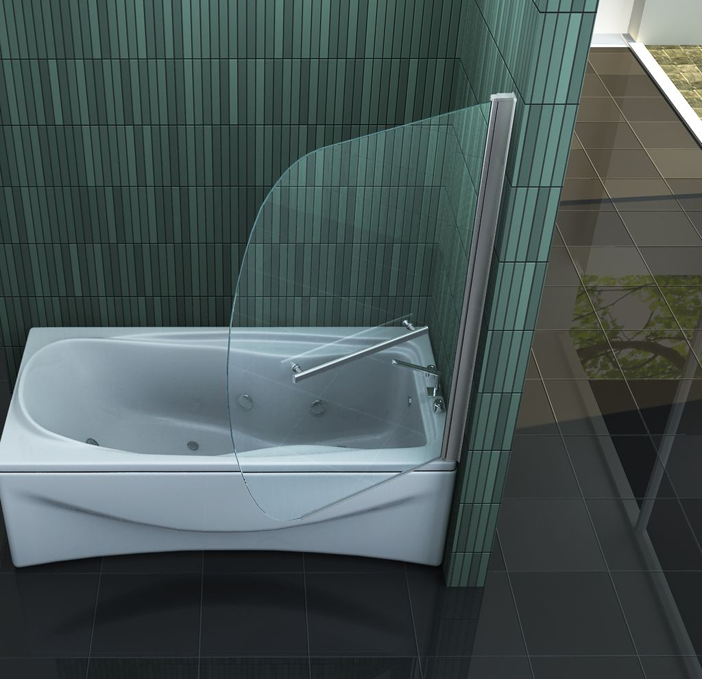 duschtrennwand sailo badewanne. Black Bedroom Furniture Sets. Home Design Ideas