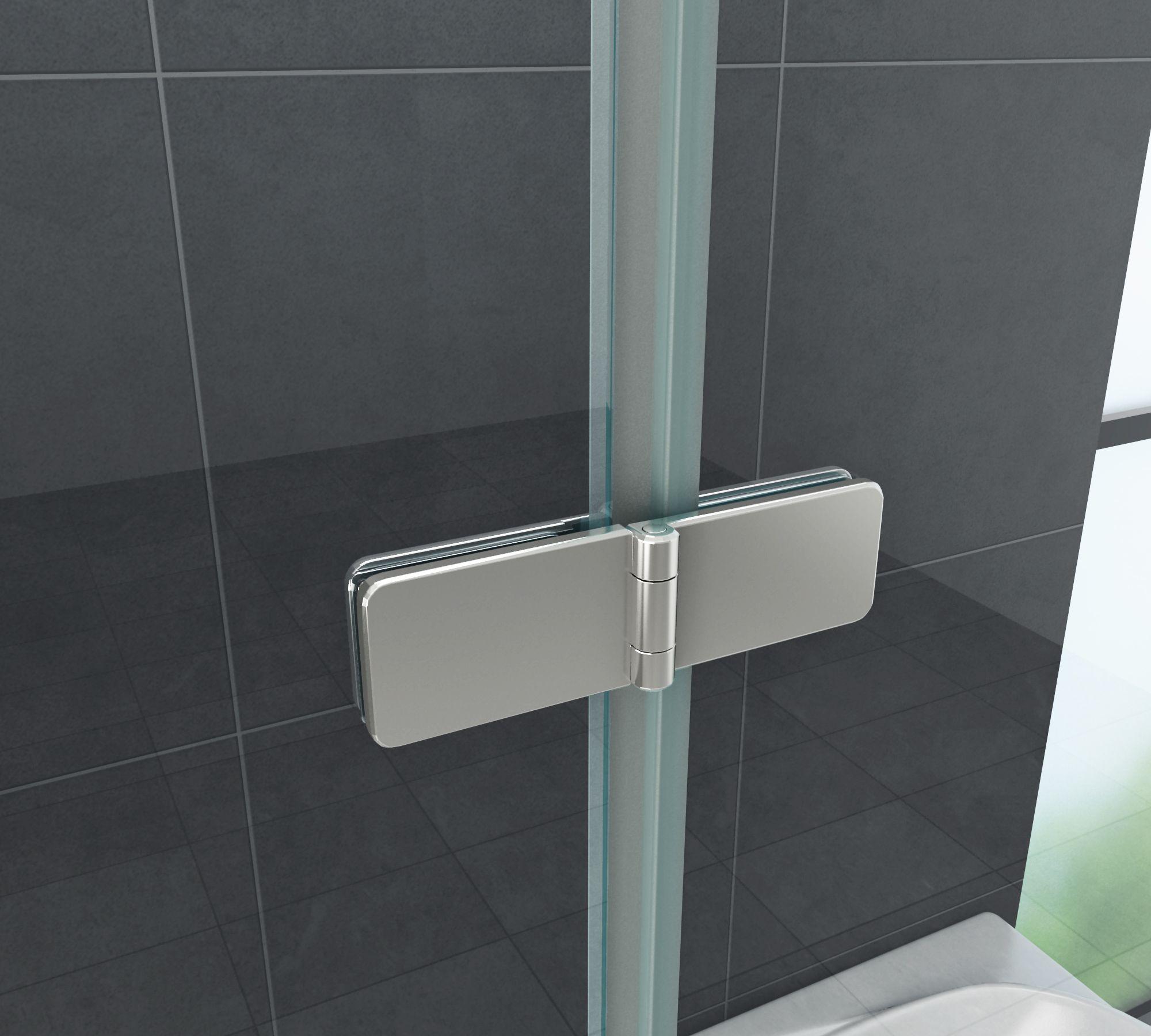 Scharnier / Beschlag für Duschen S01