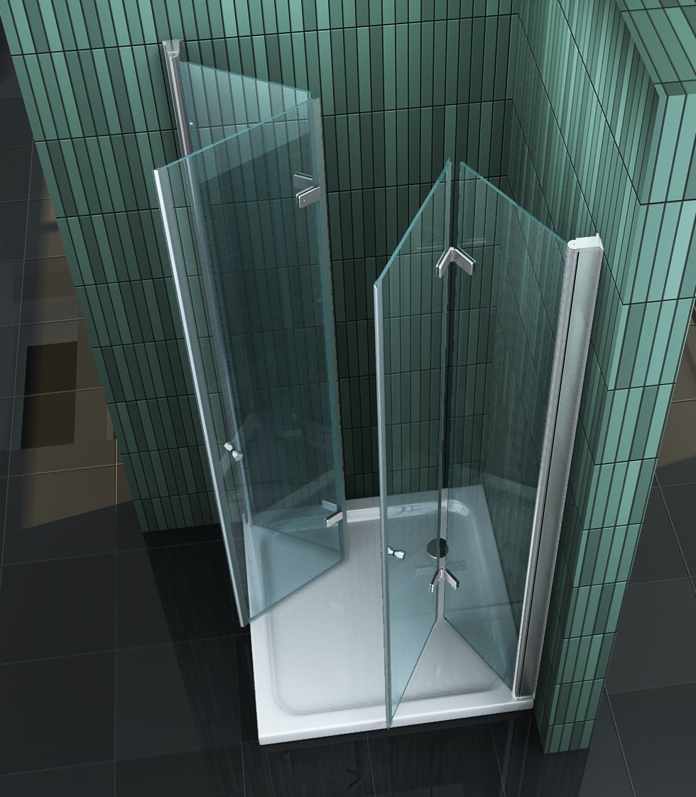 duschkabine space 90 x 75 x 200 cm inkl duschtasse. Black Bedroom Furniture Sets. Home Design Ideas