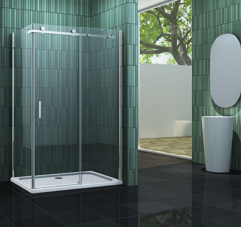 Duschkabine TECHNO 120 x 80 x 195 cm ohne Duschtasse