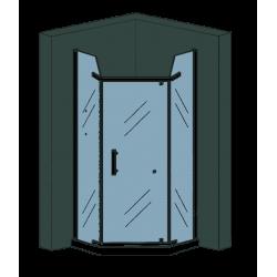 Duschkabine Fünfeck