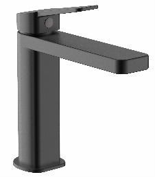 Einhebel-Waschtischarmatur KARYO 110 (matt-schwarz)