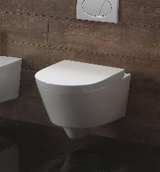Wand-WC inkl. Soft-Close Sitz WH-446151