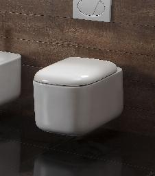 Wand-WC inkl. Soft-Close Sitz WH-446161
