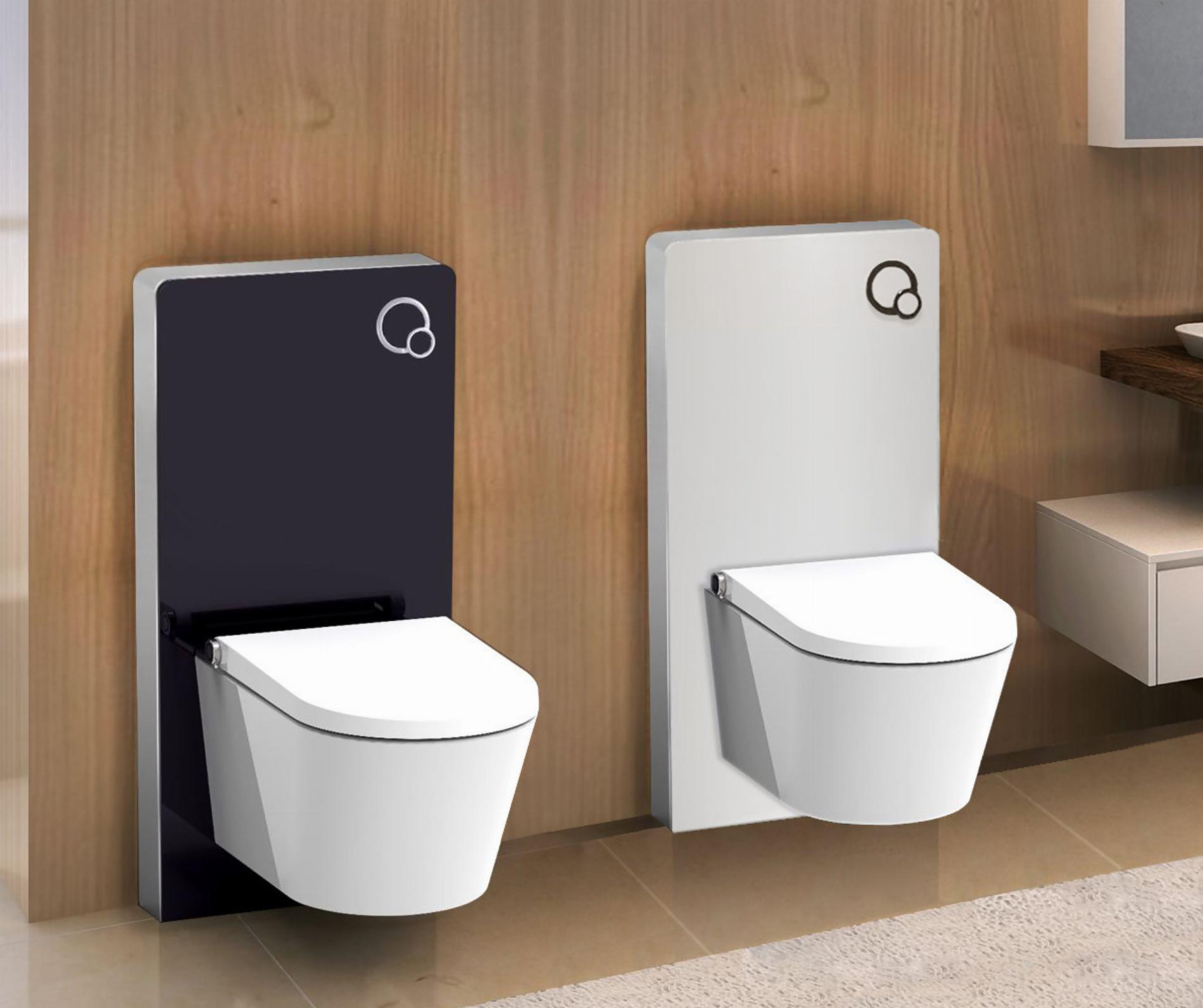 Sanitärmodul für Wand-WC inkl. Betätigungsplatte